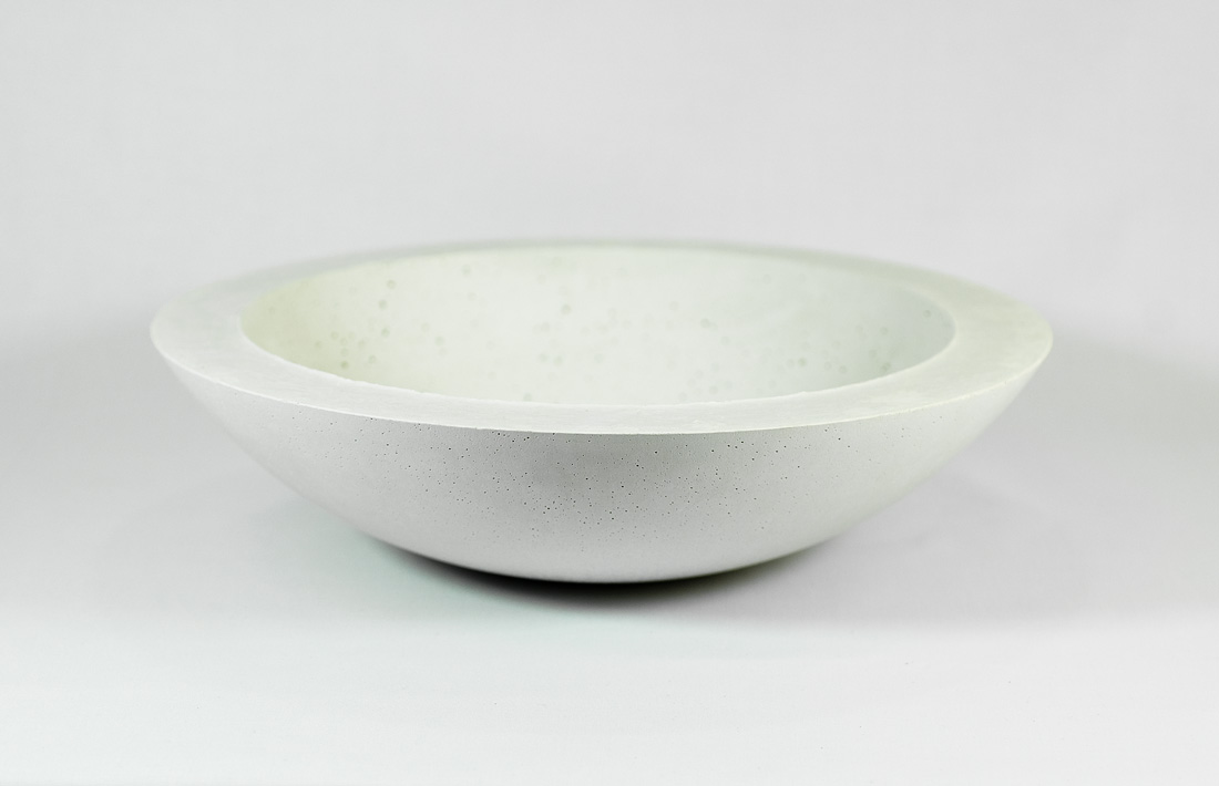 Albina white concrete centerpiece cemento bianco centrotavola pastina italian goodies collection