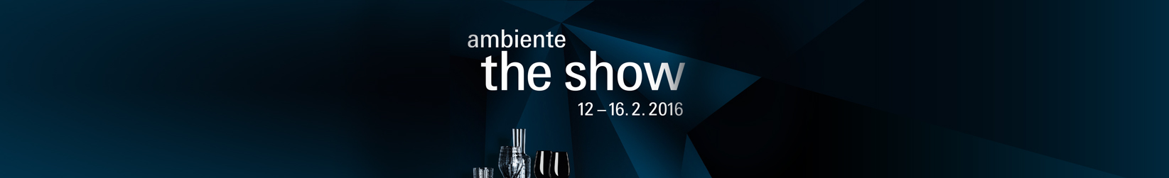 AMBIENTE THE SHOW 2016 | Studio Pastina | Italian Goodies Collection