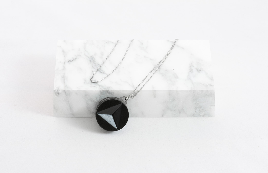 Solid Collection pendants concrete pendente cemento studio pastina per Colla Fine Concrete Jewelry