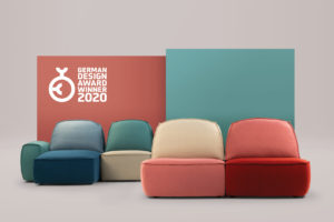 Lazy sofa, designed by Studio Pastina for Calia Italia, Wins German Design Award 2020