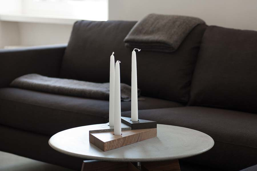Efesto candle holder portacandele Studio Pastina