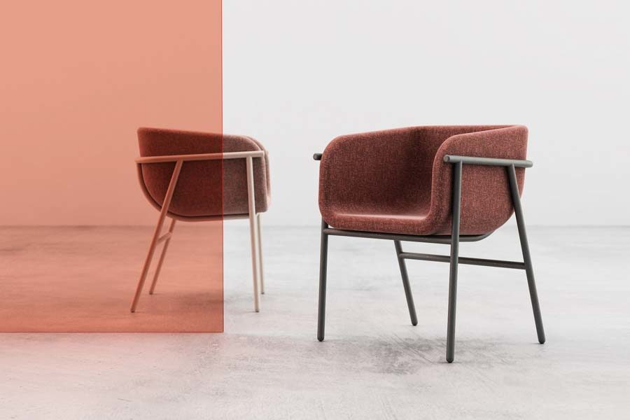 Flora chair sedia Chairs & More Studio Pastina