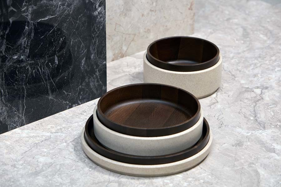 Rafael stacking bowls wood Camino Studio Pastina