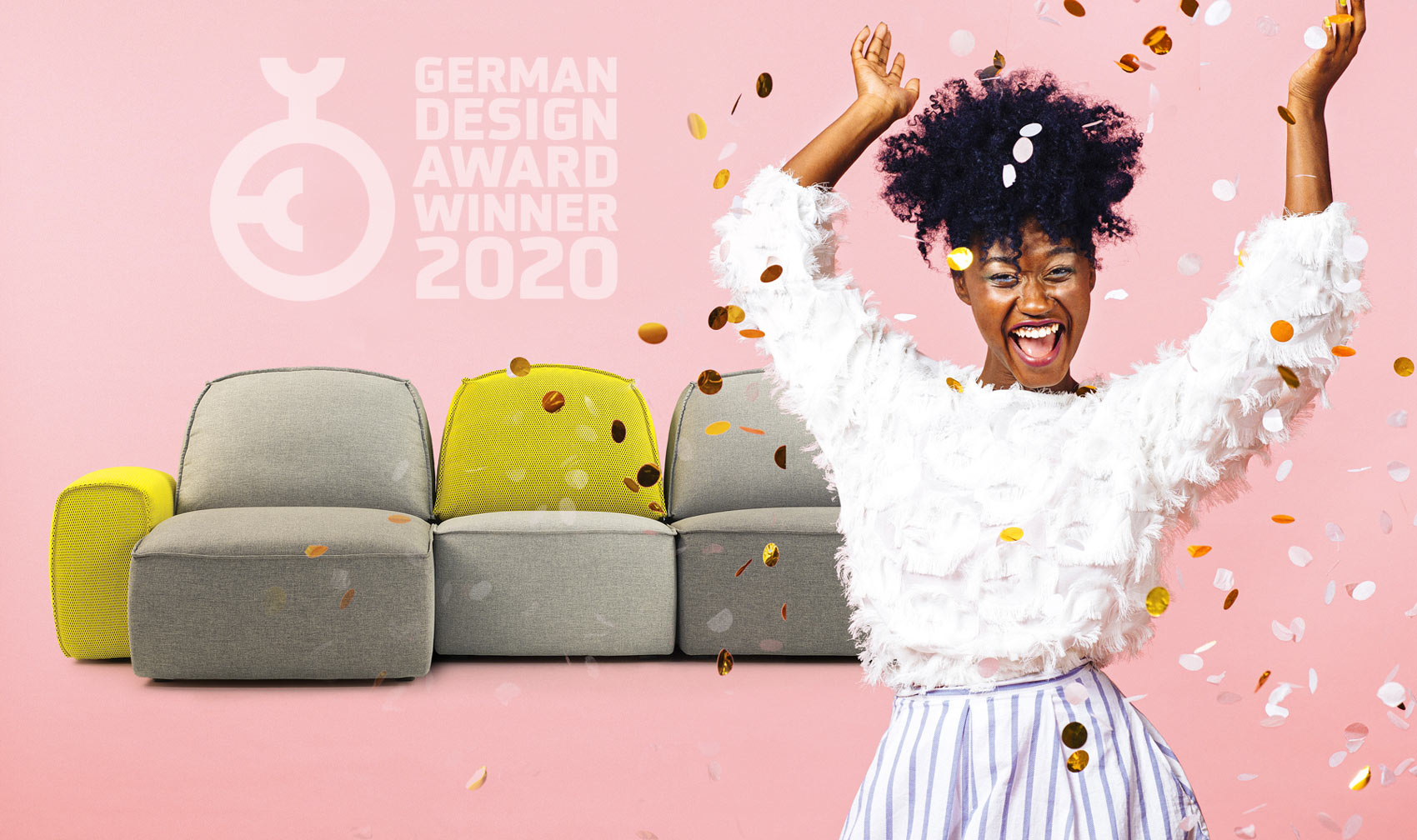 Lazy wins<br> German Design Award 2020