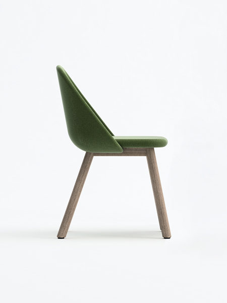 Spoon chair design Studio Pastina for Billiani
